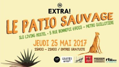 Extra! Nuits sonores - Patio Sauvage
