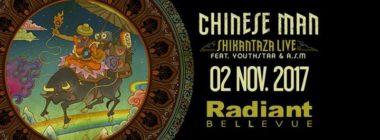 Chinese Man - Shikantaza LIVE - Radiant Bellevue