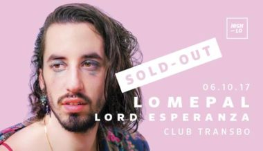 Complet /// Lomepal Lord Esperanza - Club Transbo - Lyon