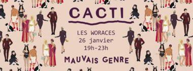 CACTI magazine #3 - sortie le 26 janvier - Free
