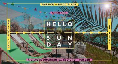 Hello Sunday America - Disco plage
