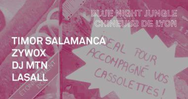 Le Dimanche Cool // Blue Night Jungle x Chineurs de Lyon