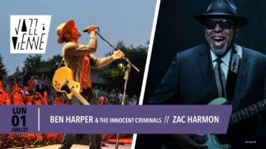 ben harper jazz à vienne 2019
