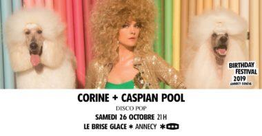 Corine + Caspian Pool au Brise Glace