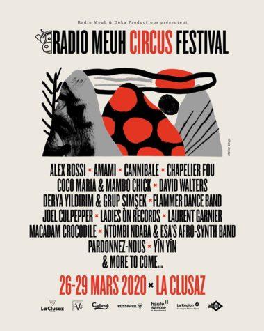 Radio Meuh Circus Festival 2020 Afiche
