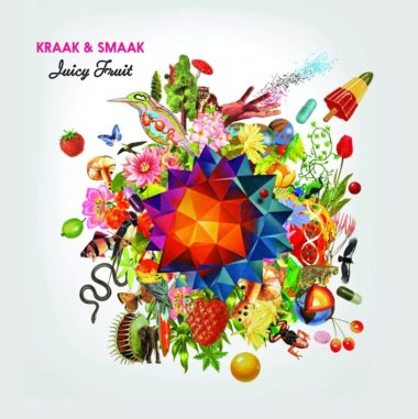 cover juicy fruit kraak and smaak