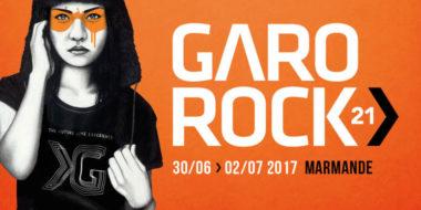 Affiche festival Garorock 2017