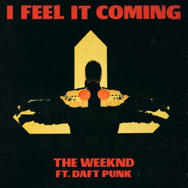 cover single The Weeknd et Daft Punk I feel it coming
