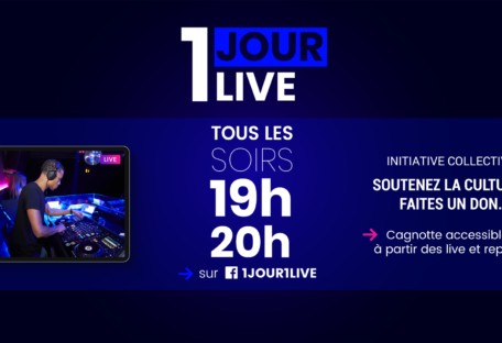 1 jour 1 live concert en streaming Lyon