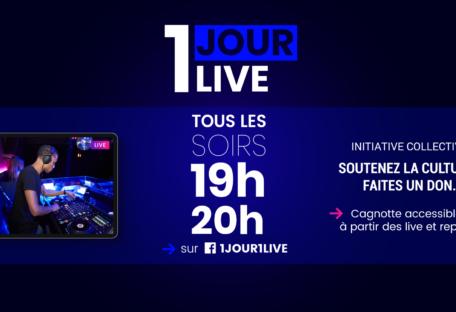 1 jour 1 live concert en streaming Lyon
