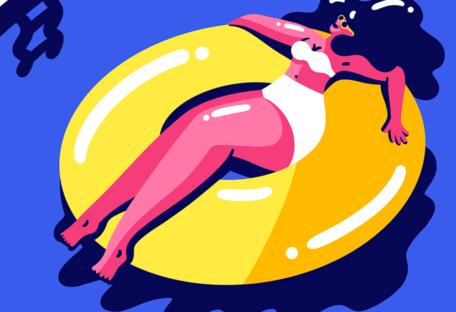 cover playlist bain de soleil heure bleue