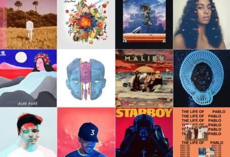 cover sélections albums Eps 2016