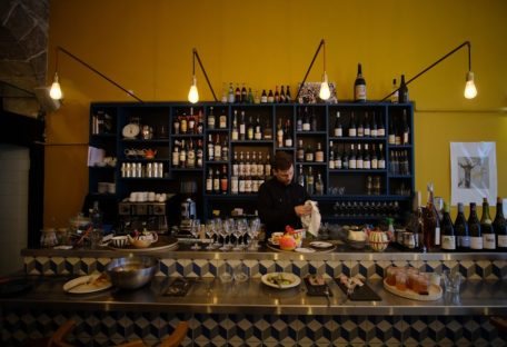 odessa comptoir intérieur bar