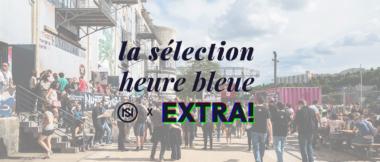 la selection heure bleue des extra nuits sonores 2019