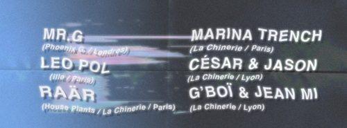Extended La Chinerie Birthday : Mr.G LIVE, Leo Pol, Raär & more