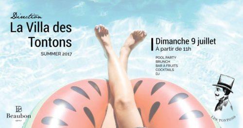 a Villa Des Tontons Dim 9 Juillet
