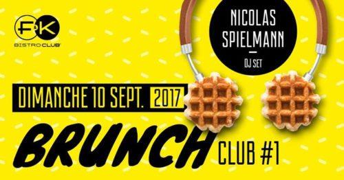 BrunchClub #1 // DJ Nicolas Spielmann