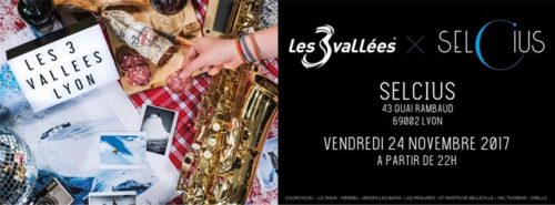 3 Vallées Party Lyon