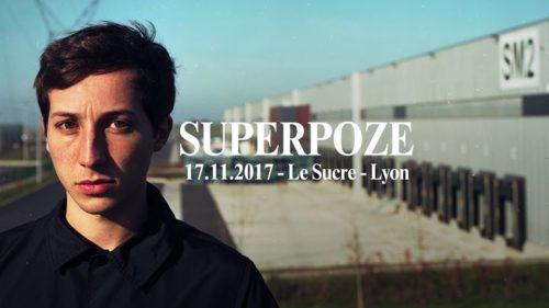Superpoze Live lyon le sucre