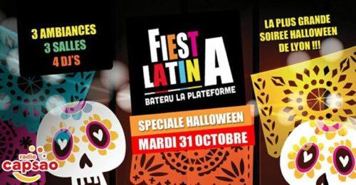 31 Octobre // Halloween Latino // La Plateforme