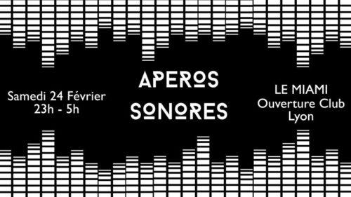 Opening LE MIAMI - Apéros Sonores