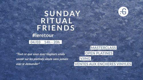 Sunday Ritual Friends #leretour