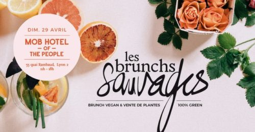Brunch Sauvage & vente de plantes !