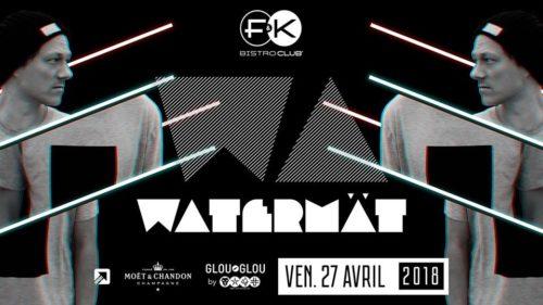 F&K invite Watermät !