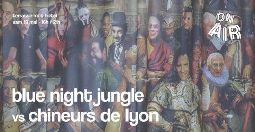 ? Samedi 19 mai, #OnAir pose ses valises de 16h à 21h sur la terrasse du MOB HOTEL Lyon pour profiter du retour du soleil ! ?Vous pourrez goûter les délicieux cocktail, sodas et jus bios du Mob, tout en profitant des dj set disco, funk, house et soul des Chineurs de Lyon et du jeune label lyonnais Blue Night Jungle ! ▷ Chineurs de Lyon SC : https://soundcloud.com/chineurs-de-lyon ▷ Blue Night Jungle SC: https://soundcloud.com/bluenightjungle Événement gratuit !