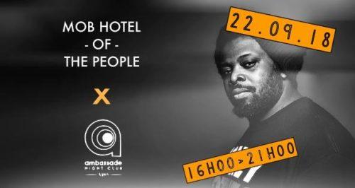 Rooftop Party L'Ambassade X MOB HOTEL Lyon