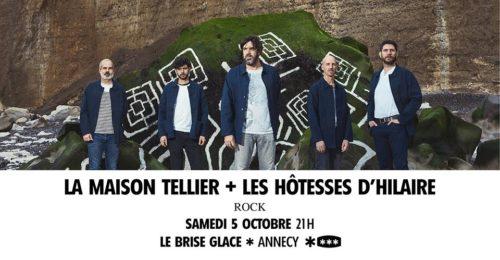 La Maison Tellier + Les Hôtesses d'Hilaire au Brise Glace