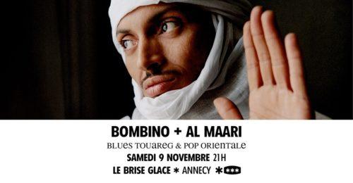 Bombino + Al Maari au Brise Glace