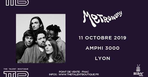 Metronomy à Lyon