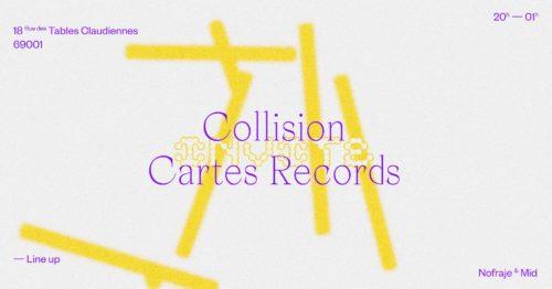 Collision invite Cartes Records