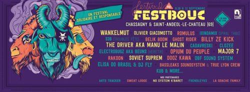 FestBouc #6 - Nouveau Format - 9 10 et 11 Septembre