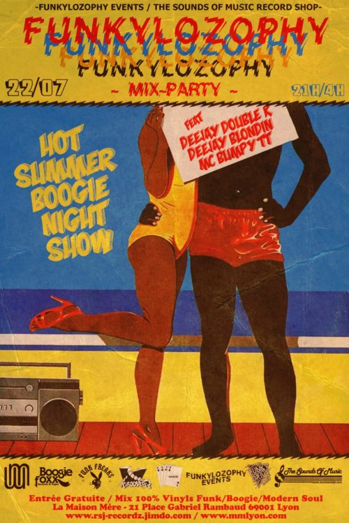 Hot Summer Boogie Night Show (Funkylozophy Mix-Party)