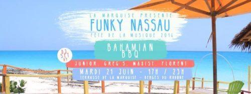 cover evenement La Marquise Funky Nassau fête de la musique lyon