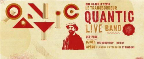 Quantic Live Band @Summer Sessions Transbo