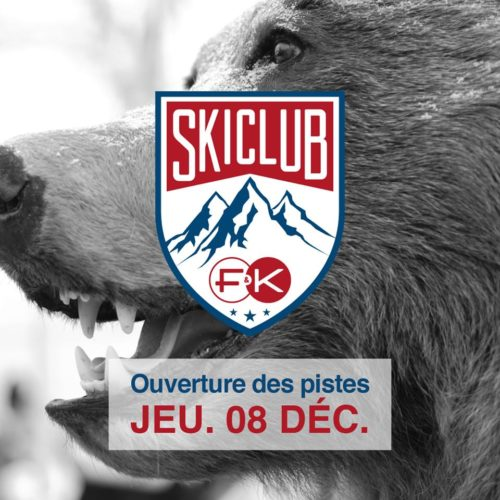 Skiclub - Lancement Officiel f&k lyon