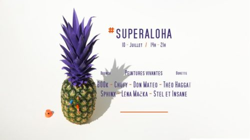 SuperAloha open air artistes lyon