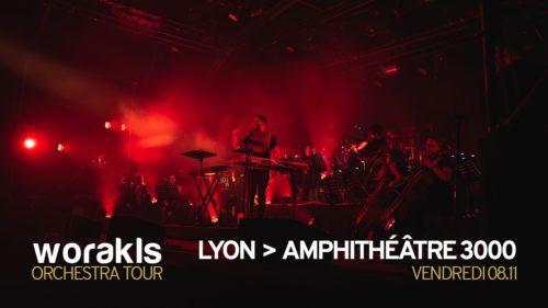 Worakls Orchestra • Amphithéâtre 3000, Lyon