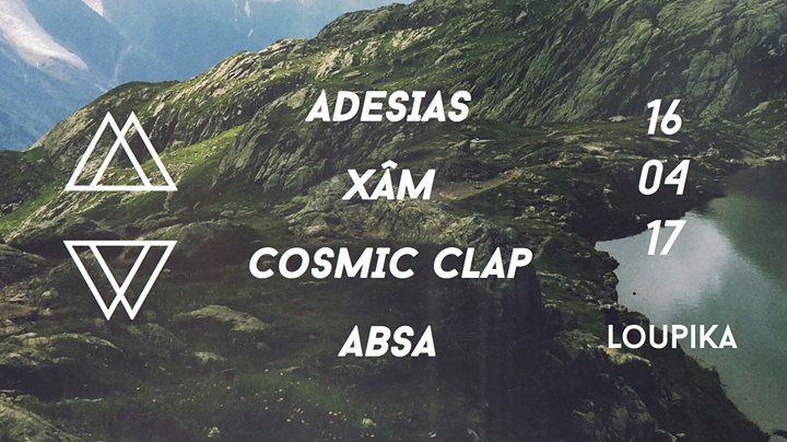 Modern Walk invite Adesias, Xâm, Cosmic Clap et Absa