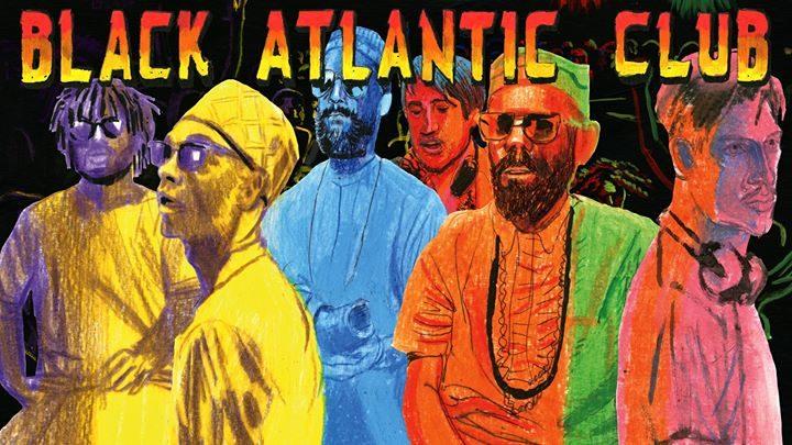Black Atlantic Club Anniversary x Romare, ÌFÉ, James Stewart
