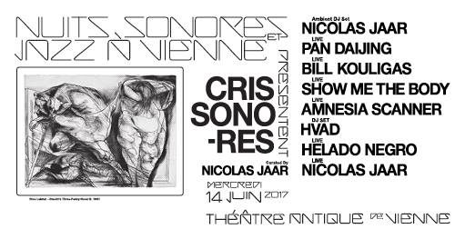 Cris Sonores curated by Nicolas Jaar