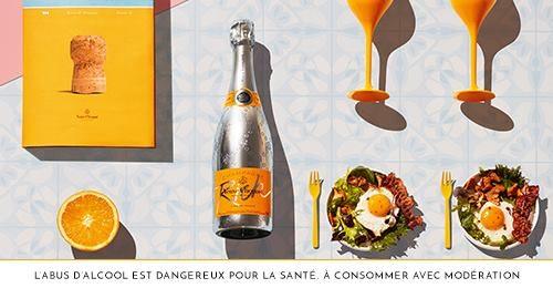 Brunch Veuve Clicquot à Lyon