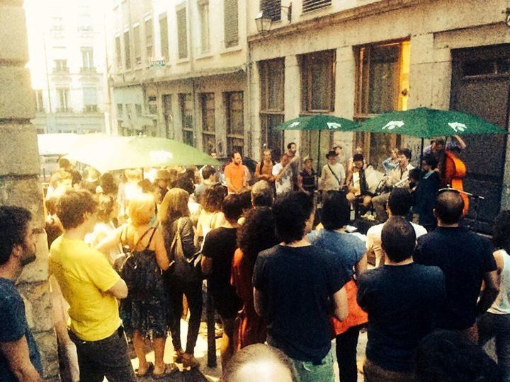 La Cuisine s'empare de la rue Saint Polycarpe ! (Live Funk & Barbecue)