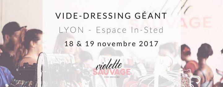 Vide-dressing LYON Violette Sauvage