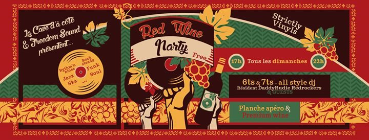 Red Wine Party - October