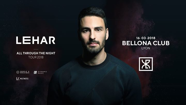 XLR Events pres. Lehar (Diynamic) - All Through The Night Tour