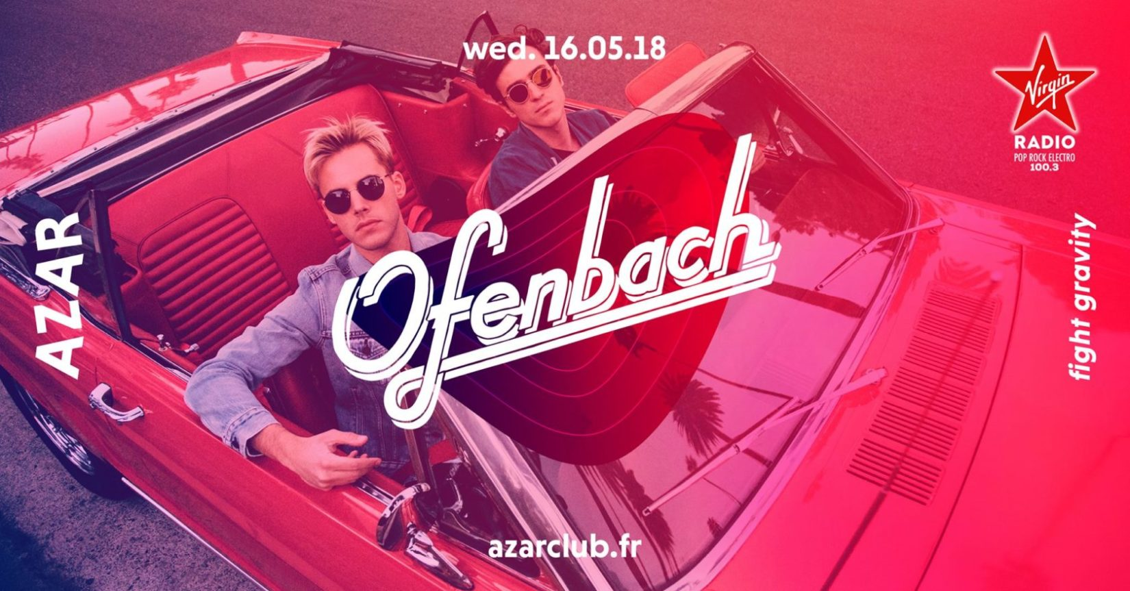Ofenbach - AZAR club - 16.05.18